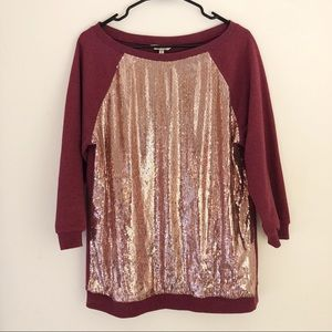Kut From the Kloth | Sequin Pullover Sweater